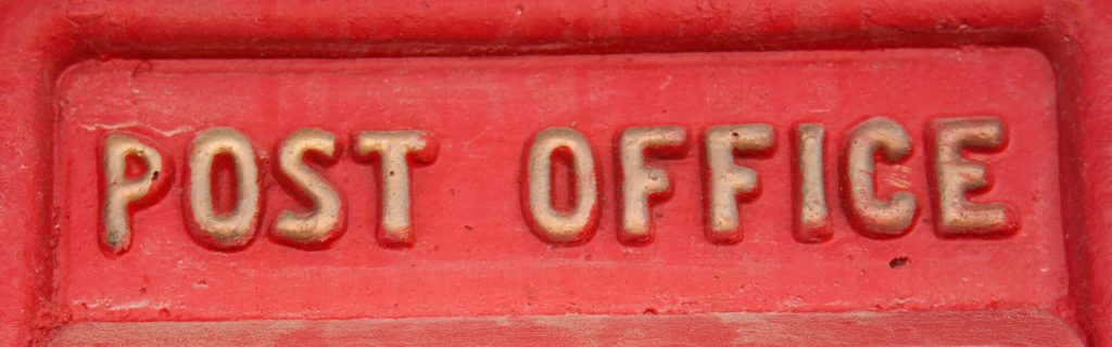 The Old Post Office postbox
