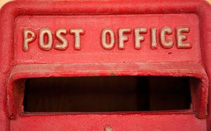 The Old Post Office post box
